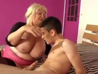 Spanish mature and boy with big cock 3