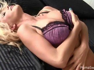 Swedish PornStar Puma Swede Has a Wet Dream!