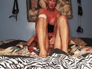 Deep throating and a messy one at that and while doing a 69 my clit was being...
