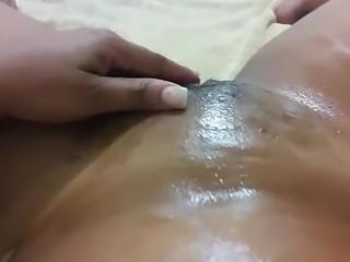 black pussy white dildo pt2