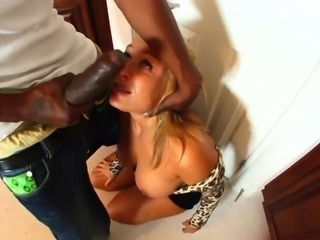 Blonde House Wife Play With Big Cock