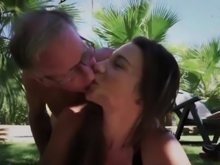 Busty Young Nurse Fucking Grandpa Cumming In Her Mouth