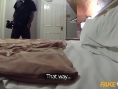 Fake Cop Stranded in Spain and fucked by cop