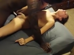 Wifey loves BBC deep deep inside her hot pussy