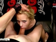Skinny Ashlee Vs Gigantic Cock - German Goo Girls