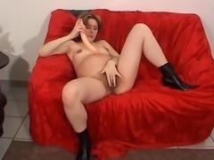 Pregnant hairy slut