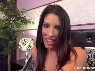 Dava Foxx POV Blowjob & Facial