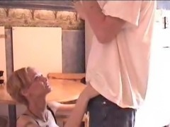 Wet Wifey Amateur Sex in Kitchen (JJ)