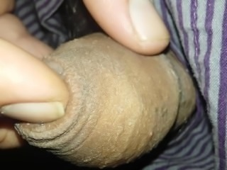 A Little River of Precum Oozing Out