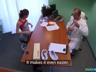 Imagine working as a doctor in a hospital, where you meet hot chicks every day! Now just think about a possibility of having sex with one of your patients right there, in your office. Wouldn't it be great if you encounter a girl that is hot, horny and loves to fuck with men in white coats?!