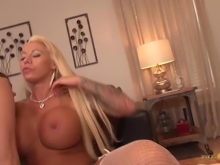 Allison Moore hot lesbian fun with busty Lolly Ink