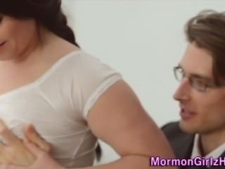 Teen missionary holy jizz