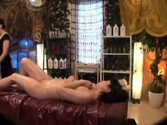 Sexy massage where girls get their pussies rubbed and finge
