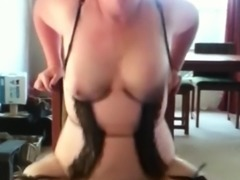 Milf pounding her pussy