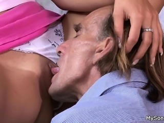 Family taboo sex is discovered