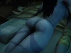 Sexy Night Elf Gets Pounded And Creampied