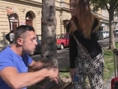 Bitches Abroad - German Lullu Gun gets fucked on her first trip to Budapest