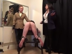 Double Mistress Caning