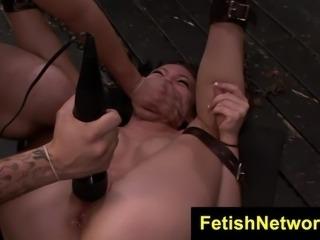 FetishNetwork Nikki Bell rope bondage