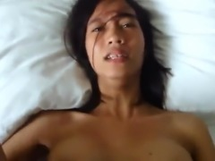 Asian pov creampie