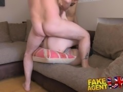 FakeAgentUK Threesome for horny couple want to fuck on cam