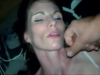 She takes this Big White cock in all her holes