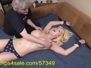 TS Kristi gets Tickle Tortured
