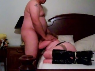 BBW Bondage Facefuck