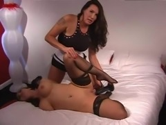 Strapon Mistress Using Female Slave #2