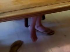 Candid Feet  Sexy Asian flips-flops #2