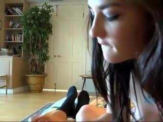 Jenna Reid smoking hot POV action