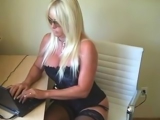 Smoking blonde - financial domination