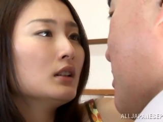 Marvelous Asian wife getting her pussy sucked then hammered