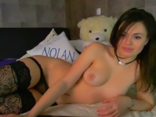 A Dream Girls on the webcam