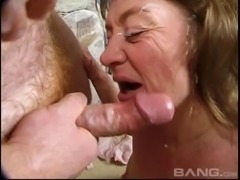 Even after all these years Elizabeth still loves the facial cumshots