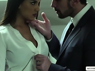 Milf Mercedes submits her wet pussy