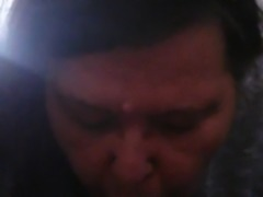 granny bbw submissive facial -1-