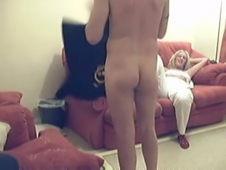 Blond haired mature wrinkled nympho was mouth fucked hard enough
