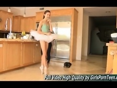 Claire Teen Shes A Ballerina And Brought Her Ballet Shoes
