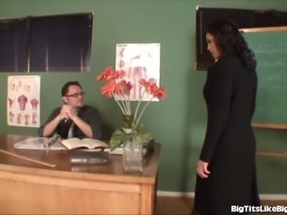 Busty Mom Fucks A Teacher