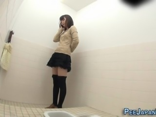 Odd japanese urinates