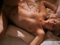 Scorching babe Leony April pretty much likes fucking at home