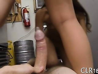 Enormous huge throbbing ramrod enters mouth and snatch