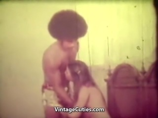 Afro Man is Sucked and Fucked (1960s Vintage)