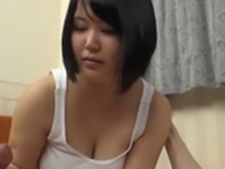 Japanese Girl Enjoys a Dick,