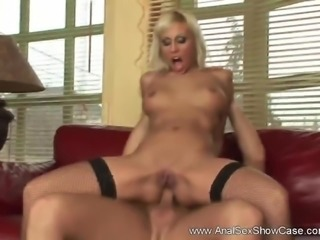 Blonde Cock Up Her Asshole Fuck