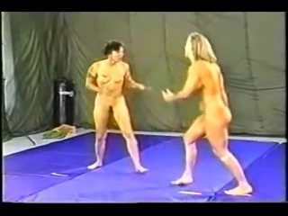 90s FEMALE COMPETITIVE WRESTLING