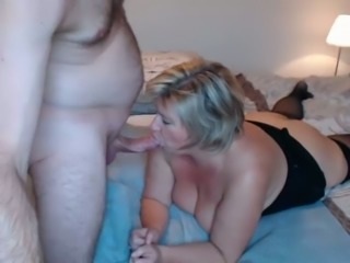 This mature woman is truly beautiful and watching her fuck is a pleasure