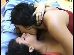 Latina Lesbians Kissing