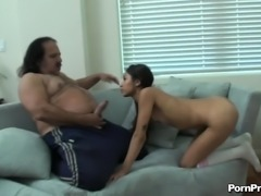 Sexy Cali gladly lets the legendary guy penetrate her sweet vagina
